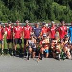 Alpin-Nachwuchsteams trainierten in Hochfilzen