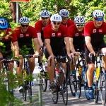 Matthias Mayer und Co. trainieren fleißig mit dem Rennrad
