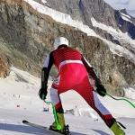 ÖSV News: Speed Team2 trainiert in Saas Fee