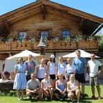 ÖSV-News: Die Speed1-Damen waren fünf Tage beim Stanglwirt in Kitzbühel zu Gast.