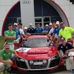 ÖSV-Stars bei AUDI Driving Experience