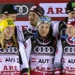 ÖSV News: Österreich holt WM-Silber im WM-Teambewerb von Are