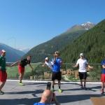 ÖSV Herren: Mit Bogenschießen, Slacklinetraining und Geschicklichkeit in die neue Saison