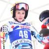 Junioren WM 2017: Nina Ortlieb und Maximilian Lahnsteiner im 1. Abfahrtstraining vorne