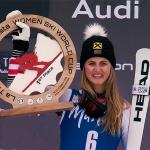 Nina Ortlieb holte sich in Reinswald Feinschliff für ihren ersten Weltcupsieg