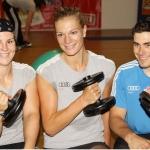 DSV Damen schwitzen in Ottobeuren – Maria Höfl-Riesch reist zur Olympiavergabe nach Durban.