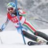 Zwei Südtirolerinnen beim Slalom in Flachau – Debüt von Pardeller