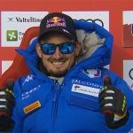 Dominik Paris rast mit der Startnummer 11 in Bormio zum Abfahrtssieg