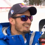 Dominik Paris Schnellster beim Abschlusstraining in Wengen auf dem Lauberhorn