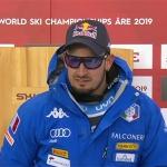 SKI WM 2019: Dominik Paris ist Super-G Weltmeister 2019