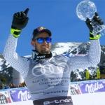 Dominik Paris sichert sich mit Sieg beim Super-G in Soldeu die kleine Super-G Kristallkugel