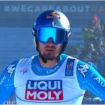 Dominik Paris hat im zweiten Abfahrtstraining von Saalbach-Hinterglemm die Nase vorn
