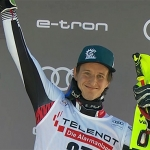 ÖSV News: Adrian Pertl sensationeller Dritter beim Slalom in Chamonix