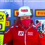 Ski-WM 2021: Mit Adrian Pertl liegt im WM-Slalom ein Überraschungsmann vorne – Finallauf live ab 13.30 Uhr