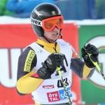 Kanadier Philip Trevor rast im EC-Slalom von Zell am See von Platz 26 zum Sieg