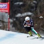 Italienisches B-Team der Damen in Les Deux Alpes