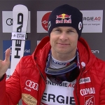 Alexis Pinturault gewinnt Alpine Kombination in Hinterstoder und holt sich Kombi-Kristallkugel ab.