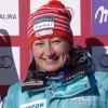Tanja Poutiainen führt nach dem 1. Durchgang beim Slalom in Soldeu