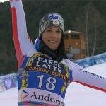 Mirjam Puchner gewinnt Abfahrt in Soldeu – Abfahrtskristall geht an Nicole Schmidhofer