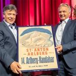 Hans Pum  bei ÖSV-Länderkonferenz 2019 in Wien verabschiedet
