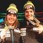 Camille Rast krönt sich zur Juniorenweltmeisterin im Slalom