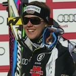 Viktoria Rebensburg führt nach dem 1. Durchgang beim Riesenslalom von Aspen