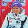 Viktoria Rebensburg nach dem ersten Lauf beim Riesentorlauf von Killington voran
