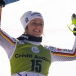 Viktoria Rebensburg gewinnt Super-G in Soldeu – Mikaela Shiffrin sichert sich kleine Kristallkugel