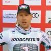 Hannes Reichelt rast bei Abfahrt in Garmisch mit Nummer 1 auf Platz 1