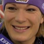 Maria Riesch führt nach dem 1. Slalomdurchgang in Levi