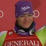Maria Riesch gewinnt auch die Samstagsabfahrt in Lake Louise