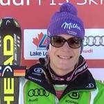 Maria Höfl-Riesch gewinnt auch zweite Damenabfahrt von Lake Louise