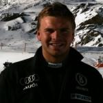 Andreas Sander wird Zweiter im Europacup Super G von Meribel