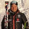 Andreas Sander am Ort des Vorjahreserfolges