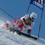 Florian Scheiber gewinnt Europacup Super-G in Santa Caterina