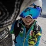 """Christine Scheyer im Skiweltcup TV Interview: """"Mikaela Shiffrin und Anna Fenninger sind meine Vorbilder!"""""""