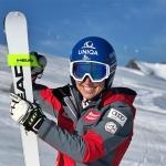 Christine Scheyer steht wieder auf den Skiern