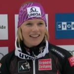 Marlies Schild führt beim Slalom von Lenzerheide, Riesch auf 2, Vonn auf 14