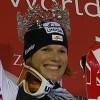 Marlies Schild gewinnt Slalom der Damen in Zagreb