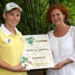 Tierwelt Herberstein: Nicole Schmidhofer zeigt Herz für Tiere