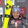 Nicole Schmidhofer feiert bei der 2. Damenabfahrt in Lake Louise ihren 2. Weltcupsieg