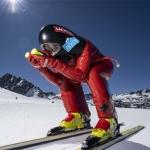 Nici Schmidhofer absolvierte erstes Speedski-Training in Andorra