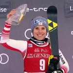 Nicole Schmidhofer will auf der Welle des Erfolgs weiter reiten.