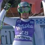 Merighetti feiert Heimsieg in Cortina – Schnarf auf Platz 16