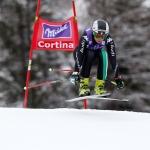 Italienische Ski-Damen im Einsatz