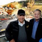 SKI WM 2013: FIS Vorstand tagt in Schladming und besichtigt WM Bauten