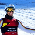 Dominik Schwaiger holt DM-Super-G-Gold