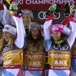 SKI WM 2019: Schweiz holt Weltmeistertitel im Nationen Team Event