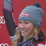 Die Jugend schlägt zurück: Mikaela Shiffrin krönt sich zur Slalomkönigin von Bormio