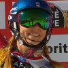 Mikaela Shiffrin fliegt im zweiten Lauf zum dritten WM-Slalom-Gold in Serie